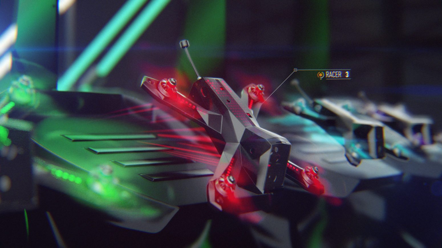 dazzle ship design motion studio broadcast gaming music drone racing league 2017