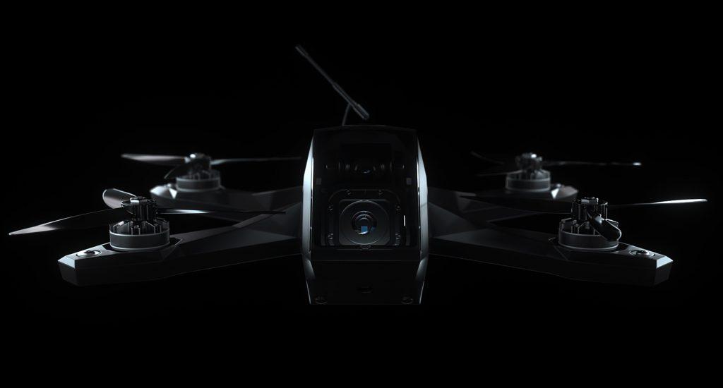 fpv drone racing animation
