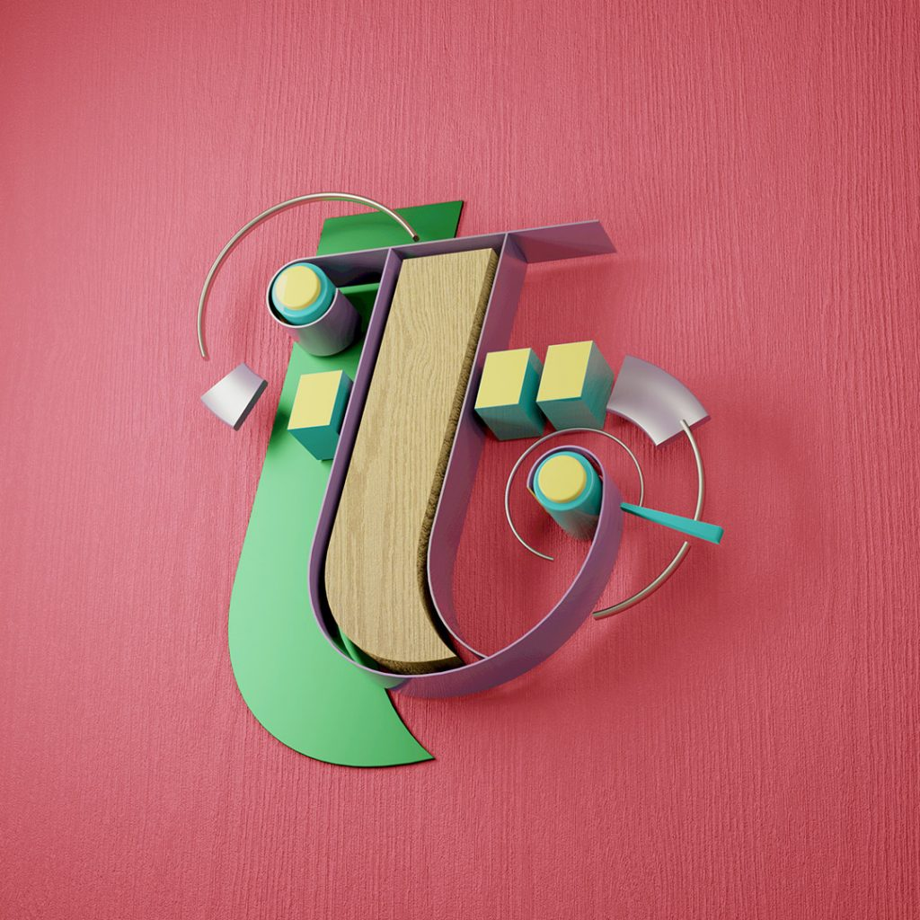 letter t typography