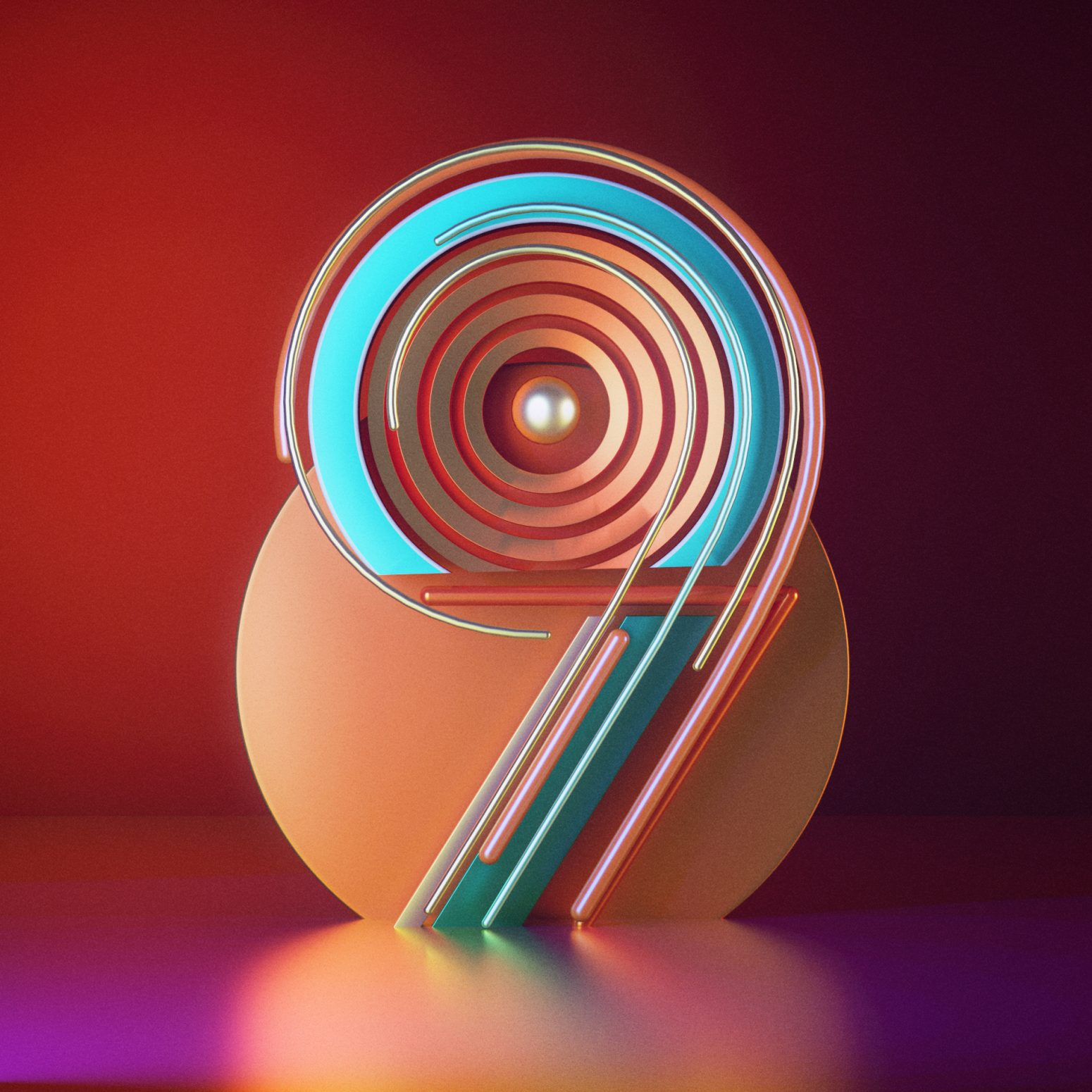 9 typography abstract, trippy