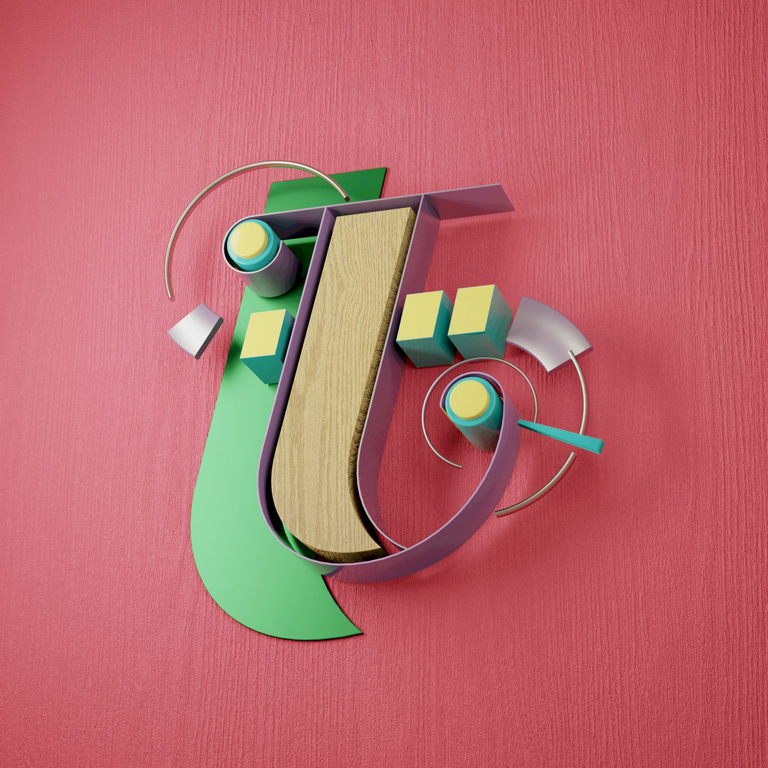 typography design animation letters